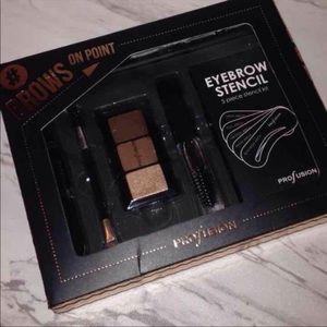 Profusion Eyebrow Kit Powder Tweezer Pencil